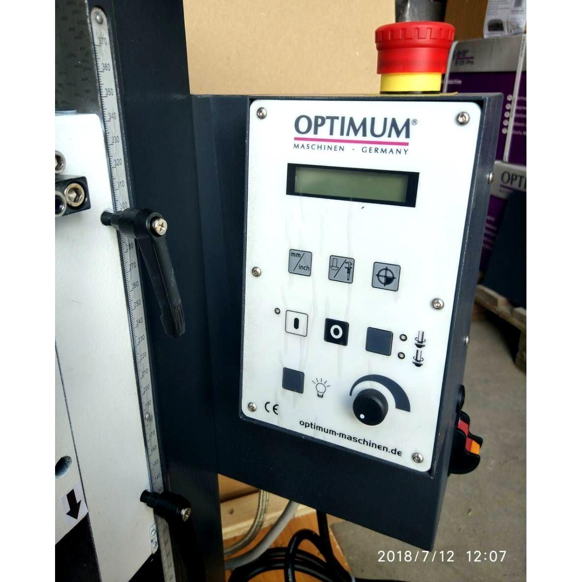 Настольный фрезерный станок по металлу Оптимум MH22 V_11