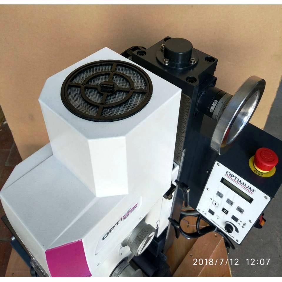 Настольный фрезерный станок по металлу Оптимум MH22 V_12