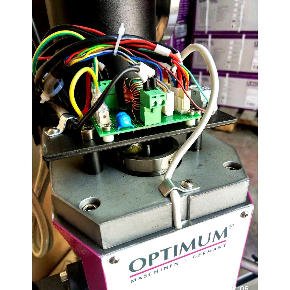 Настольный фрезерный станок по металлу Оптимум MH22 V_14