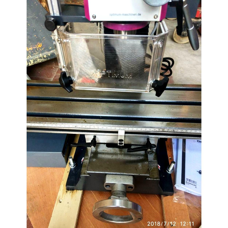 Настільний фрезерний верстат по металу Оптимум MH22 V_3