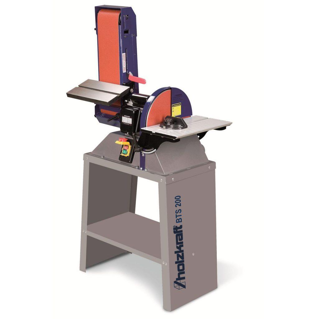Комбинированный шлифовальный станок holzkraft bts 200 1
