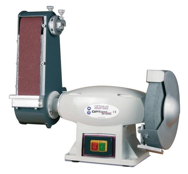 Ленточно-шлифовальный станок по металлу OPTIgrind SM 200SL